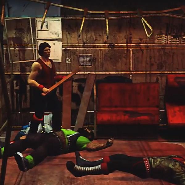 Warriors street brawl 3D engine