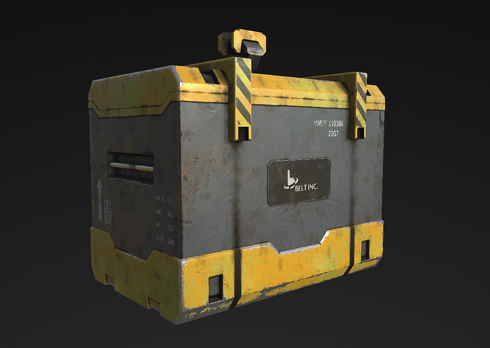 Container in substance painter