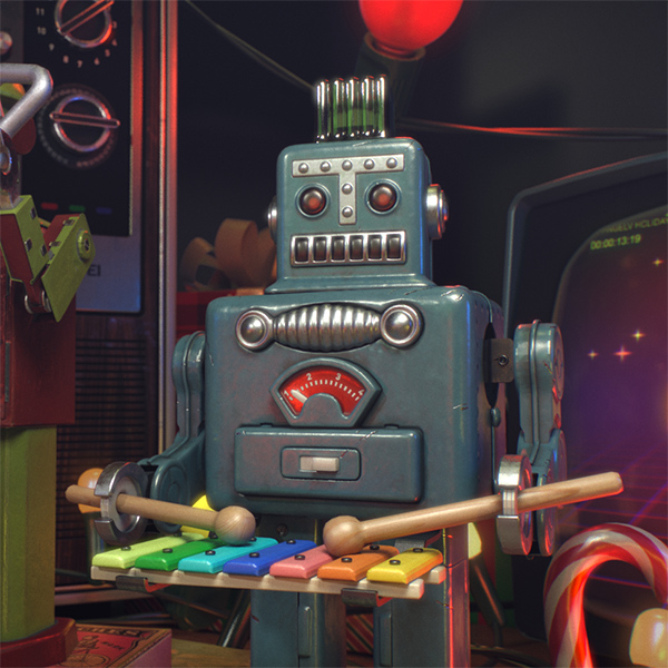 OrangeLV Holiday Greeting VR animation