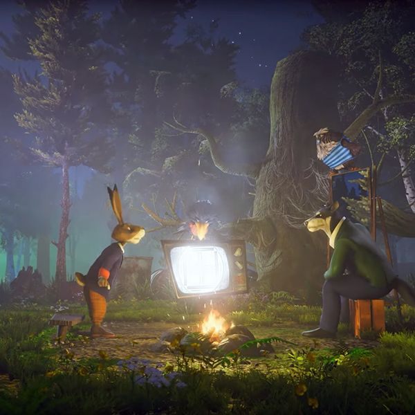 Zapovednik: TV show rendered in Unity